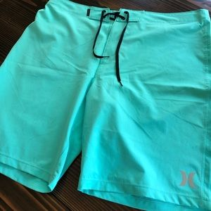 Brand New Turquoise Blue Hurley Board Shorts